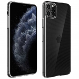 Apple iPhone 11 Pro Max Schutzhülle Silikon Second Skin ? Transparent