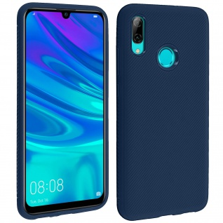 Schutzhülle Huawei P Smart 2019/ Honor 10 Lite, gummierte Gelhülle - Dunkelblau