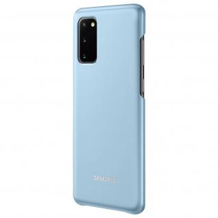 Original Samsung LED Cover, Schutzhülle für Samsung Galaxy S20 â€? Hellblau