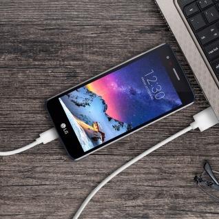 Micro-USB auf USB Kabel 2.1A Inkax - 1M Aufladen und Synchronisieren - Vorschau 4