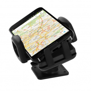 Universal Smartphonehalterung 360° drehbar mit schraubbarem Befestigungssystem