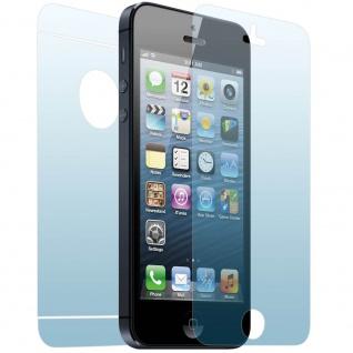 Vorder- und Rückseite Schutzfolie für Apple iPhone 5/ 5S und SE
