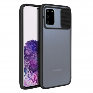Samsung Galaxy S20 Handyhülle mit integriertem Kameraschutz ? Schwarz