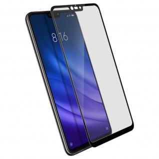 9H kratzfeste Glas-Displayschutzfolie für Xiaomi Mi 8 Lite - Schwarz