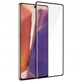 9H Härtegrad Displayschutzfolie für Samsung Galaxy Note 20 â€? Rand Schwarz