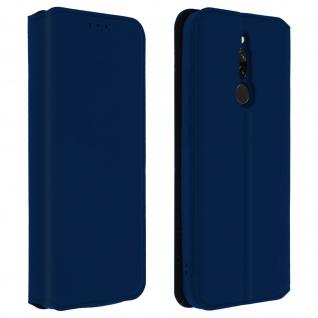 Kunstleder Cover Classic Edition Xiaomi Redmi 8, Redmi 8A - Blau