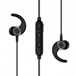 Active Series Wireless Bluetooth-Sportheadset, magnetisch, by Swissten - Schwarz