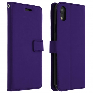 Flip Stand Cover Brieftasche & Standfunktion Apple iPhone XR - Violett