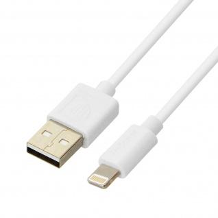 Ladekabel iPhone/iPad/ USB 2.1A Inkax - 1M Aufladen und Synchronisieren