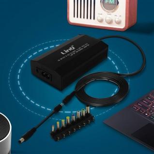 LinQ Universal Power Charger 150W mit 8 Spitzen 12 bis 24V IT-150W - Schwarz - Vorschau 5