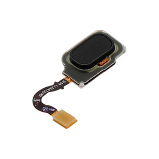 Ersatzteil Haupttaste mit Flexkabel für Samsung Galaxy A8 Schwarz - Vorschau 2