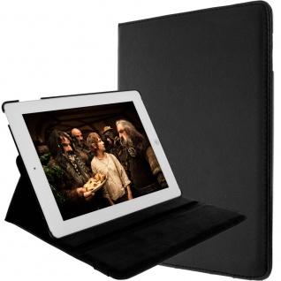 Flip-Cover für Apple iPad 2, 3, 4 und iPad Retina mit Standfunktion ? Schwarz