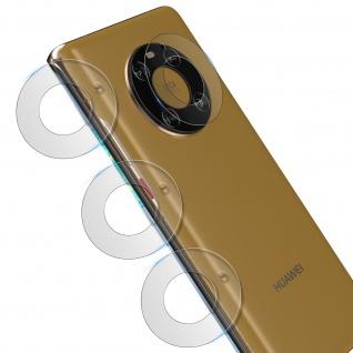 4x Rückkamera Schutzfolien für Huawei Mate 40 Pro / Pro Plus, 3mk ? Transparent