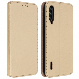 Kunstleder Cover Classic Edition Xiaomi Mi A3 - Gold