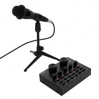 Bluetooth Live Sound Card Mixer-Funktion 12 Klangeffekte, HD3276 � LinQ