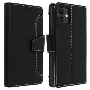 Apple iPhone 11 Klapphülle mit Portemonnaie ? Schwarz