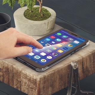 Smart View Flip Cover, Klappetui für Huawei P Smart Plus - Braun - Vorschau 4
