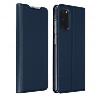 Klappetui mit Kartenfach & Standfunktion Samsung Galaxy S20 - Dunkelblau