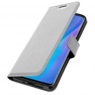 Flip Stand Cover Brieftasche & Standfunktion für Huawei P30 Pro - Weiß - Vorschau 2