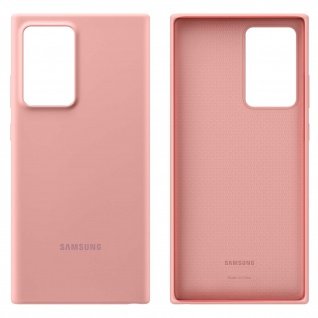 Original Samsung Soft Touch Cover Silikon Samsung Galaxy Note 20 Ultra - Rosa