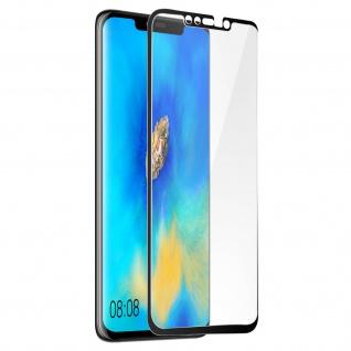 9H kratzfeste Glas-Displayschutzfolie für Huawei Mate 20 Pro - Schwarz
