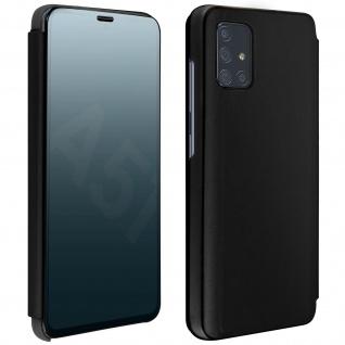 Mirror Klapphülle, Spiegelhülle für Samsung Galaxy A51 â€? Schwarz