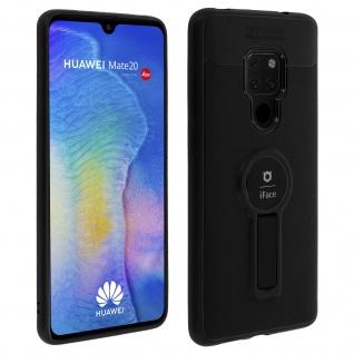 Magnethülle, Silikonhülle für Huawei Mate 20, Standcase - Schwarz
