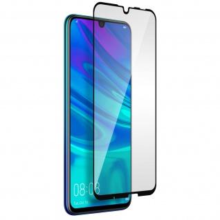 Glas-Displayschutzfolie für Huawei P Smart 2019, Honor 10 Lite - Schwarz