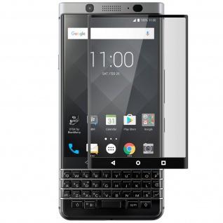 9H kratzfeste Glas-Displayschutzfolie für BlackBerry Keyone - Schwarz