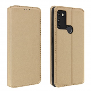 Kunstleder Cover Classic Edition Honor 9A - Gold
