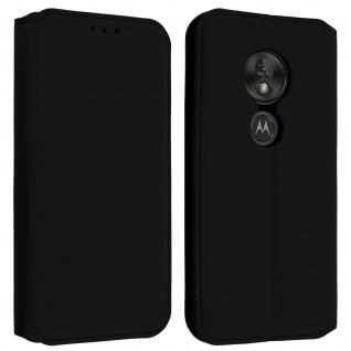 Kunstleder Cover Classic Edition Motorola Moto G7 Play ? Schwarz