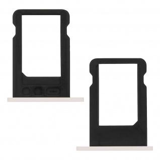Nano-Sim-Ersatz-Kartenhalter für iPhone 5C Weiß - Vorschau 2