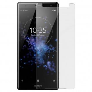 Displayschutzfolie aus gehärtetem Glas für Sony Xperia XZ2 ? 9H Härtegrad