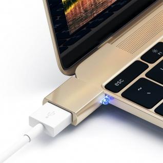 Sync- & Ladeadapter, USB-C männlich / USB weiblich Adapter by Satechi - Gold - Vorschau 4