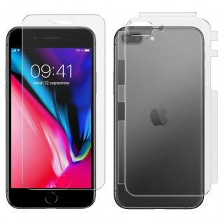Antibakterielle 360° Rundumschutzfolie für iPhone 7 Plus / 8 Plus ? Transparent