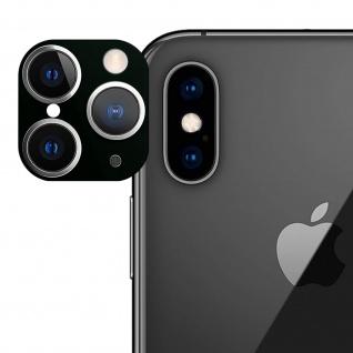 Apple iPhone 11 Pro grüner Fake Kamera Aufkleber für die Rückkamera aus Glas