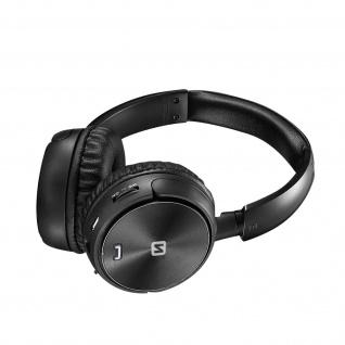 Trix Bluetooth-Headset, FM-Tuner / Micro SD-Anschluss, Swissten � Schwarz