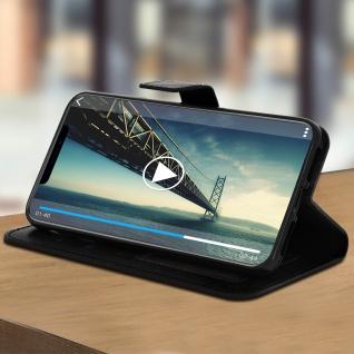 Flip Stand Cover Brieftasche & Standfunktion Apple iPhone XS Max - Schwarz - Vorschau 3