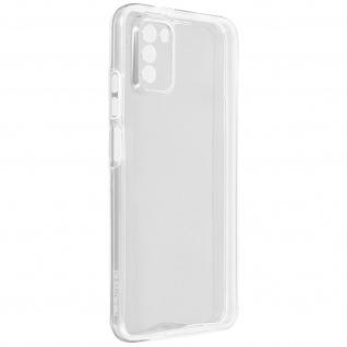 Schutzhülle für Xiaomi Poco M3, Vorder- + Rückseite ? Transparent