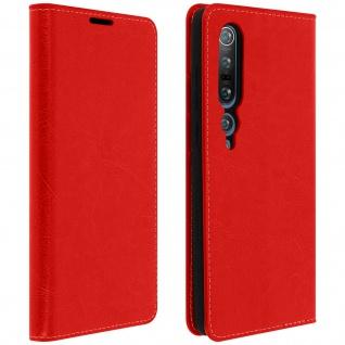 Business Leder Cover, Schutzhülle mit Geldbörse Xiaomi Mi 10/Mi 10 Pro ? Rot