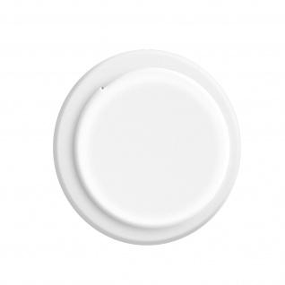 Apple AirTag weiche Silikonhülle, klebende Rückseite ? Weiß