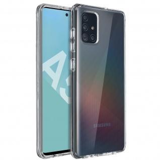 Crystal Schutzhülle + Bumper cover für Samsung Galaxy A51 - Transparent