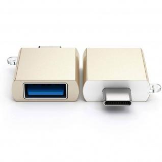 Sync- & Ladeadapter, USB-C männlich / USB weiblich Adapter by Satechi - Gold - Vorschau 2