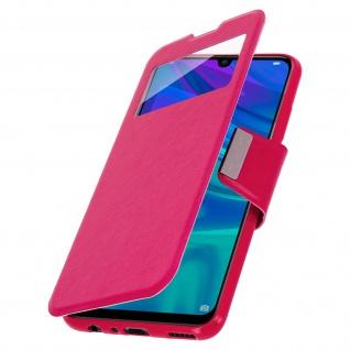 Klappetui mit Sichtfenster & Ständer Huawei P Smart 2019, Honor 10 Lite - Rosa - Vorschau 2