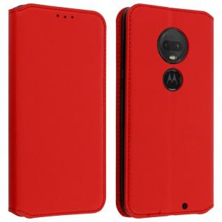 Kunstleder Cover Classic Edition Motorola Moto G7/G7 Plus ? Rot