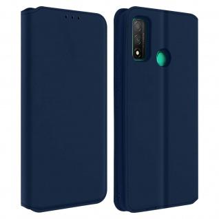 Kunstleder Cover Classic Edition Huawei P smart 2020 - Blau