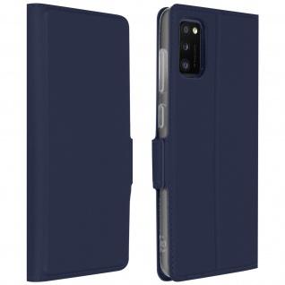 Klappetui mit Kartenfach & Standfunktion Samsung Galaxy A41 - Dunkelblau