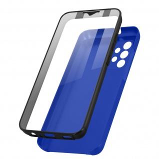 Schutzhülle für Samsung Galaxy A32, Vorder- + Rückseite ? Blau