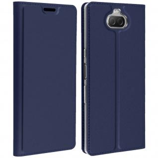Klappetui mit Kartenfach & Standfunktion Sony Xperia 10 Dux Ducis Dunkeblau