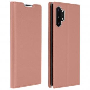 Klappetui mit Kartenfach & Standfunktion Samsung Galaxy Note 10 Plus - Rosegold